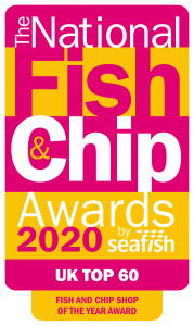 National Fish & Chip Awards 2020 UK top 60 award